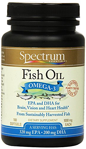 Spectrum Essential Oil Fish Omg3 1000mg