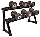 JFIT Premium Horizontal Dumbbell Rack