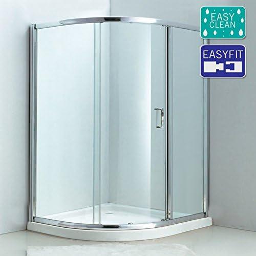 Matriz - Cuadrante de puerta corredera simple (1200 x 900 mm, 6 mm ...