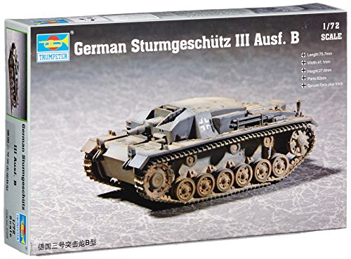 Trumpeter 1/72 German Sturmgeschutz III Ausf B (Sturmgeschutz Iii Tank)