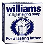 Williams Mug Shaving Soap, 1.75 Oz (Pack of 5)