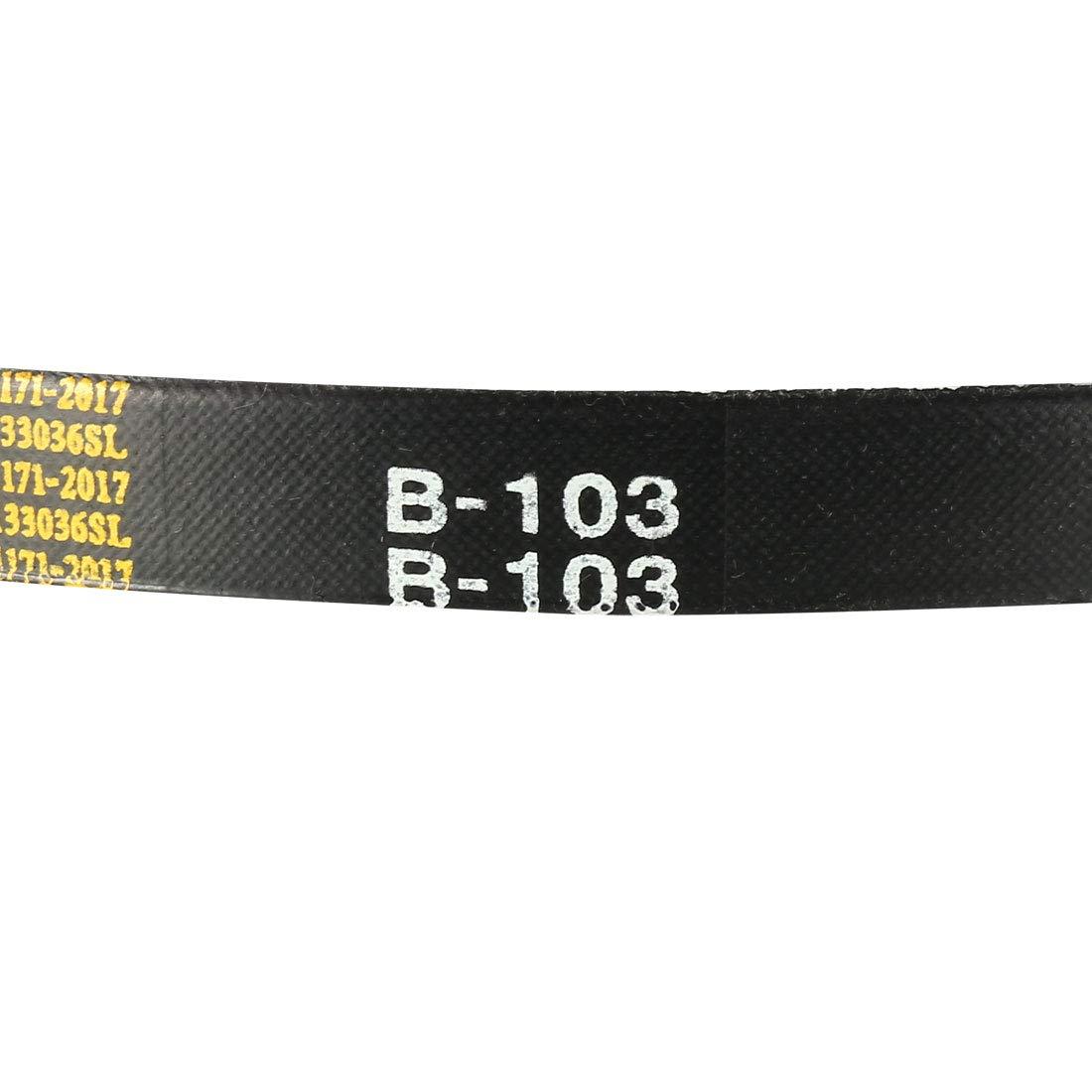 uxcell/® B93 Drive V-Belt Girth 93-inch Industrial Power Rubber Transmission Belt