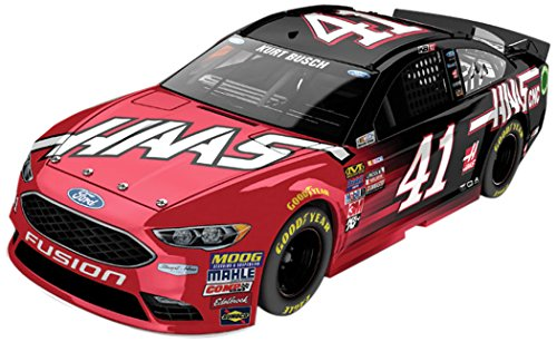 Lionel Racing Kurt Busch # 41 Haas Automation 2017 Ford Fusion 1:24 Scale ARC HOTO Official Diecast of the Monster Energy NASCAR Cup Series.
