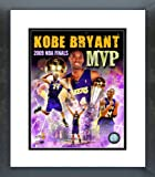 pictures of kobe bryant - Kobe Bryant 2009 NBA Finals MVP Collage Framed Picture 8x10