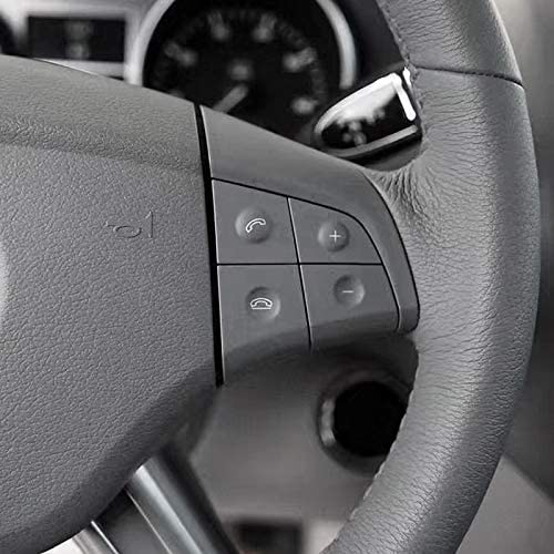 Moligh doll Car Multifunction Audio Steering Wheel Button for Mercedes W164 GL ML 2006-2009 Black