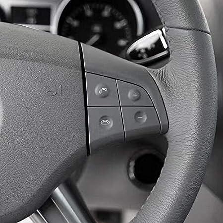 W164 GL ML 2006-2009 Gris CUHAWUDBA Audio Multifonction pour Voiture Bouton de Volant pour Mercedes