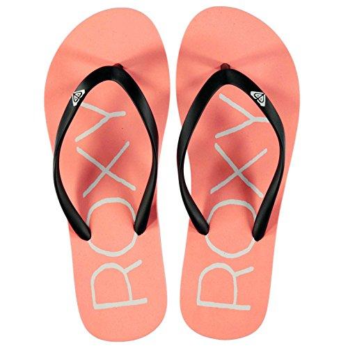 Roxy Mujer Henley Chancletas Chanclas Pantuflas Zapatillas Zapatos Calzado Rosa logo