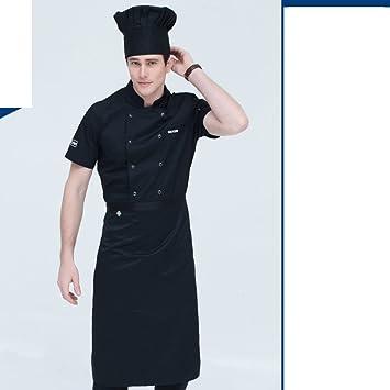 Jx Boos Tablier De Chef Hommes Manches Courtes Ete Hotel Restaurant