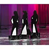 Diva Silhouette Standee Dance Party Prop