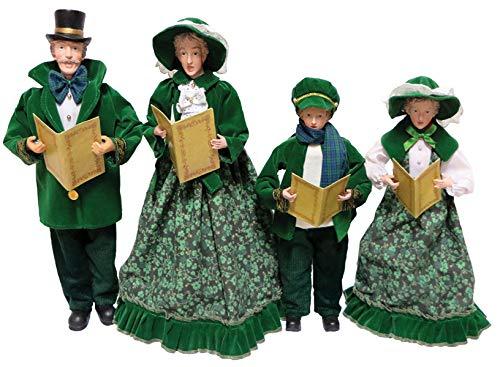 Santa's Workshop Irish Carolers Figurine 18