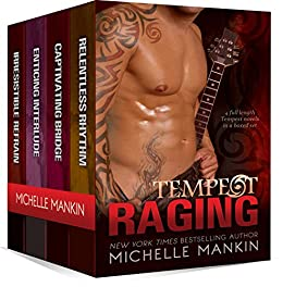 TEMPEST RAGING: The Tempest Rock Star Series, books 1-4 by [Mankin, Michelle]