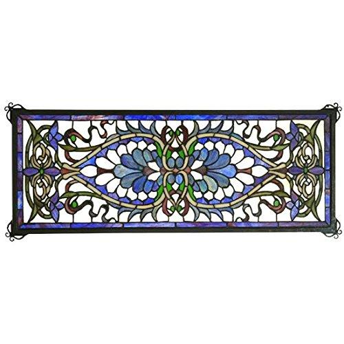 Meyda Tiffany 78104 Antoinette Transom Stained Glass Window, 29