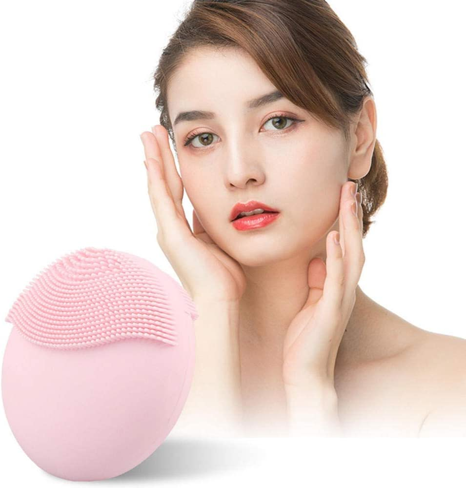 Limpiadora Facial Limpieza Facial Electrodomésticos Cepillos de sílice eléctrica cepillo de limpieza facial todo-en-uno de la máquina Limpiador Hidratante masajeador profunda limpieza de la cara de la