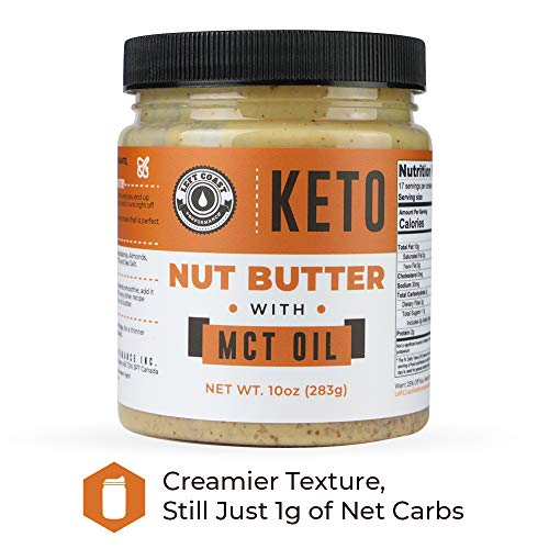Keto Nut Butter Fat Bomb [Crunchy] - 10 Oz - Macadamia Low Carb Nut Butter Blend (1 net carb), Keto Almond Butter with MCT Oil, Left Coast Performance 4