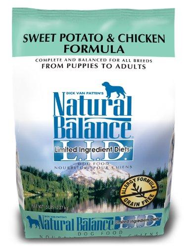 Potato 15 Lb Bag - Natural Balance Dry Dog Food, Grain Free Limited Ingredient Diet Chicken And Sweet Potato Recipe, 15 Pound Bag