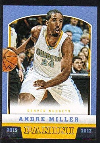 2012-13 Panini NBA Basketball #7 Andre Miller Nuggets