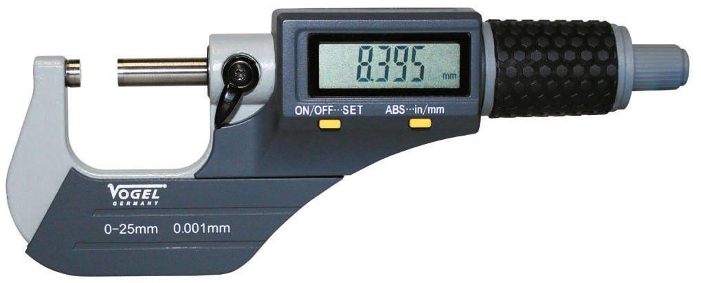 Vogel 231061 - Micrometro electronico digital din863 ip40