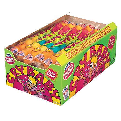 Cry Baby Extra Sour Bubble Gum (9pc) (Box of 24)