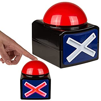 12CM BRITAINS GOT TALENT BUZZER SOUND LIGHTS KIDS FUN TOY GAME ACTIVITY  PARTY