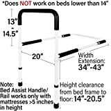 Medical Adjustable Bed Assist Rail Handle and Hand