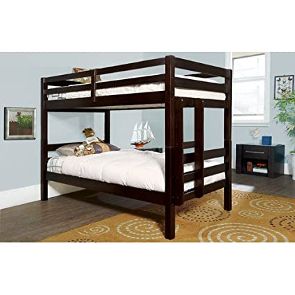 Amazon Com American Woodcrafters Essentials Twin Over Twin Bunk Bed