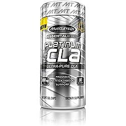 MuscleTech Platinum Pure CLA, Ultra Pure CLA, 800mg CLA per Serving, 90 Count