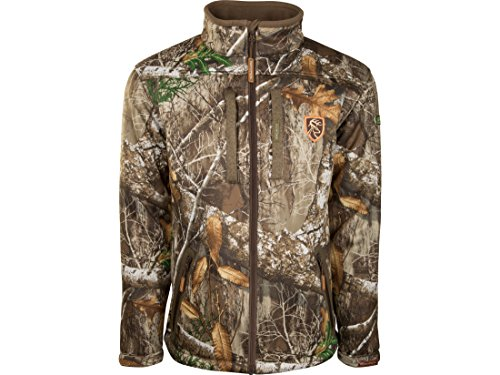 Drake Non-Typical Men's Silencer Full Zip Scent Control Jacket Polyester.