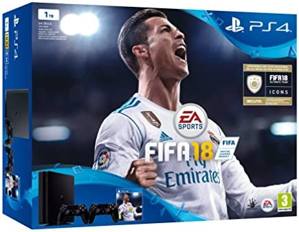 PlayStation 4 (PS4) - Consola de 1 TB, 2 Mandos Dualshock4 + ...