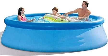 MUANSER Piscinas de Verano para Fiestas acuáticas, sobre el Suelo Piscina Inflable para niños Gruesas Piscina Infantil al Aire Libre para familias Niños Adultos,6ft: Amazon.es: Hogar