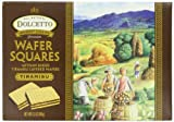 Dolcetto All Natural Wafer Squares, Tiramisu, 6.3 Ounce (Pack of 12)