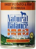 Natural Balance Canned Dog Food, Grain Free Limited Ingredient Diet Fish and Sweet Potato Formula, 12 x 13 Ounce Pack