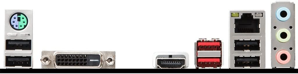 H310M GAMING PLUS MSI Performance GAMING Intel Coffee Lake H310 LGA 1151 DDR4 Onboard Graphics Micro ATX Motherboard