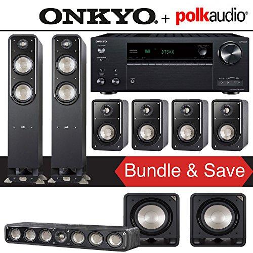Polk Audio Signature S55 7.2-Ch Home Theater Speaker System