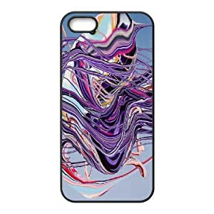 Doah Colorful IPhone 5,5S Cases Eye Candy Yago Hortal, Colorful [Black]BY autodiy