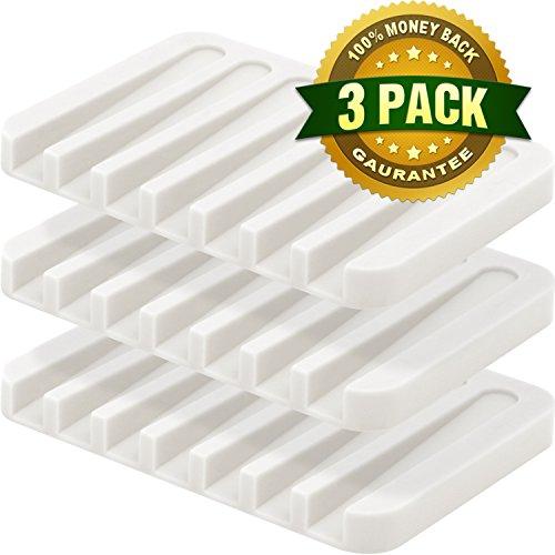 最受消费者欢迎!硅胶肥皂盒三个仅$8.99!