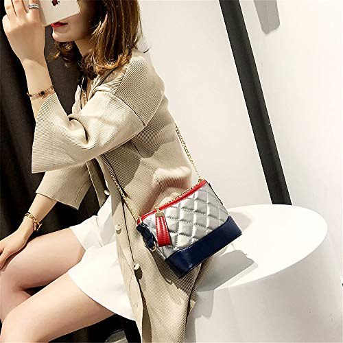 Color Chain Fragrance FangYOU1314 Shoulder Hit Small Summer Rhombic Bucket Handbag Slung Xwfx0gZqn
