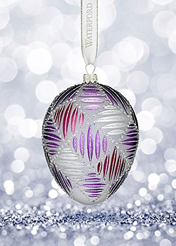 (Waterford Holiday Heirlooms Sensations Grafix Egg Ornament)