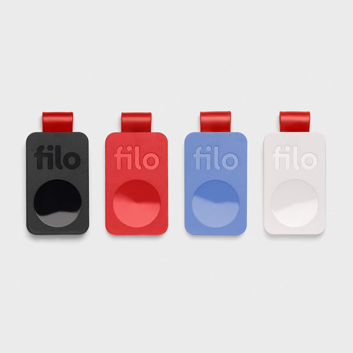 FiloTag Localizador de Objetos para Encontrar Las Cosas Perdidas | Nueva Serie Julio 2019 | Tracker Bluetooth Made in Italy. Tamaños: 25 x 41 x 5 mm | ...
