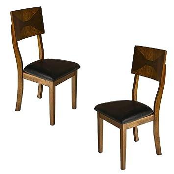 Amazon.com: New Classic Gillian silla de comedor, roble ...