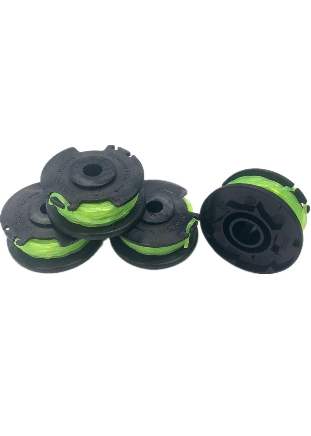 LBK Replacement Trimmer Spool Line for Scotts AC80S3, Compatible with Scotts AC80S3 0.080'', 4 Pack, Made in USA