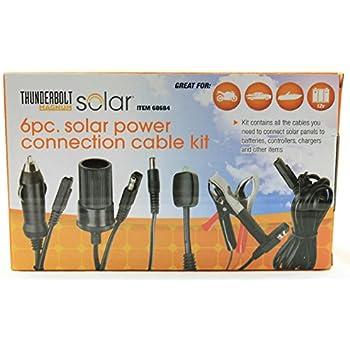 Amazon Com 100 Watt Solar Panel Kit Kitchen Amp Dining