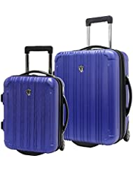 Travelers Choice New Luxembourg 2pc Carry-On Hardside Luggage Set