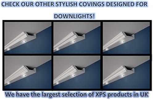 SAMPLES XPS COVING LED LIGHTING UPLIGHTER COVING CORNICE LIGHTWEIGHT BEST PRICE
