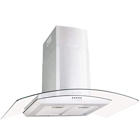 vidaXL Campana Extractora de Pared 90cm Acero Inoxidable 756m³/h LED Cocina