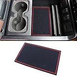 Anydream Secret Compartment Cover Console Organizer Tray for 2014-2018 Chevrolet Chevy Silverado GMC Sierra 1500 2500HD 3500HD Denali