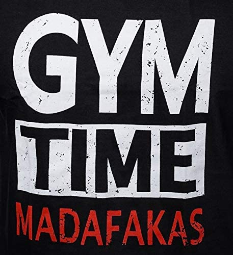 Gym Time Madafakas Sleeveless Muscle Shirt Bodybuilding Workout Top