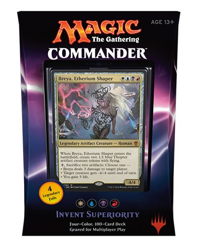 Magic The Gathering: 2016 Commander Invent Superiority Breya, Etherium Shaper by Magic: the Gathering