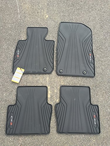 MAZDA CX-3 ALL WEATHER FLOOR MATS OEM NEW