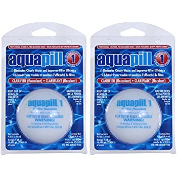 Amazon.com: aquapill # 2 Clarificador Plus, Paquete de 10 ...