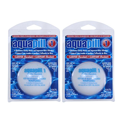 Aquapill 24001 1 Clarifier And Flocculant For Swimming